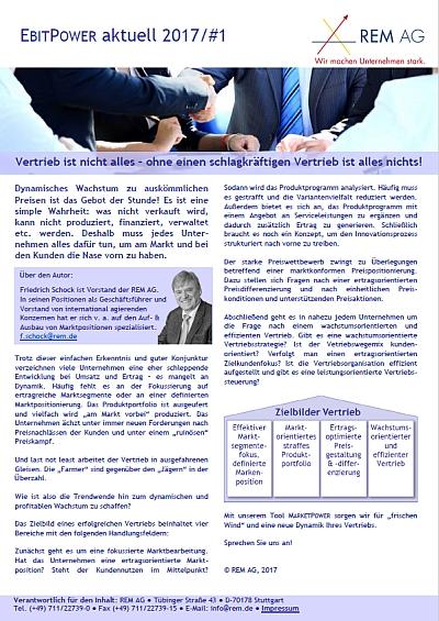 REM AG_Newsletter_EP_01_2017